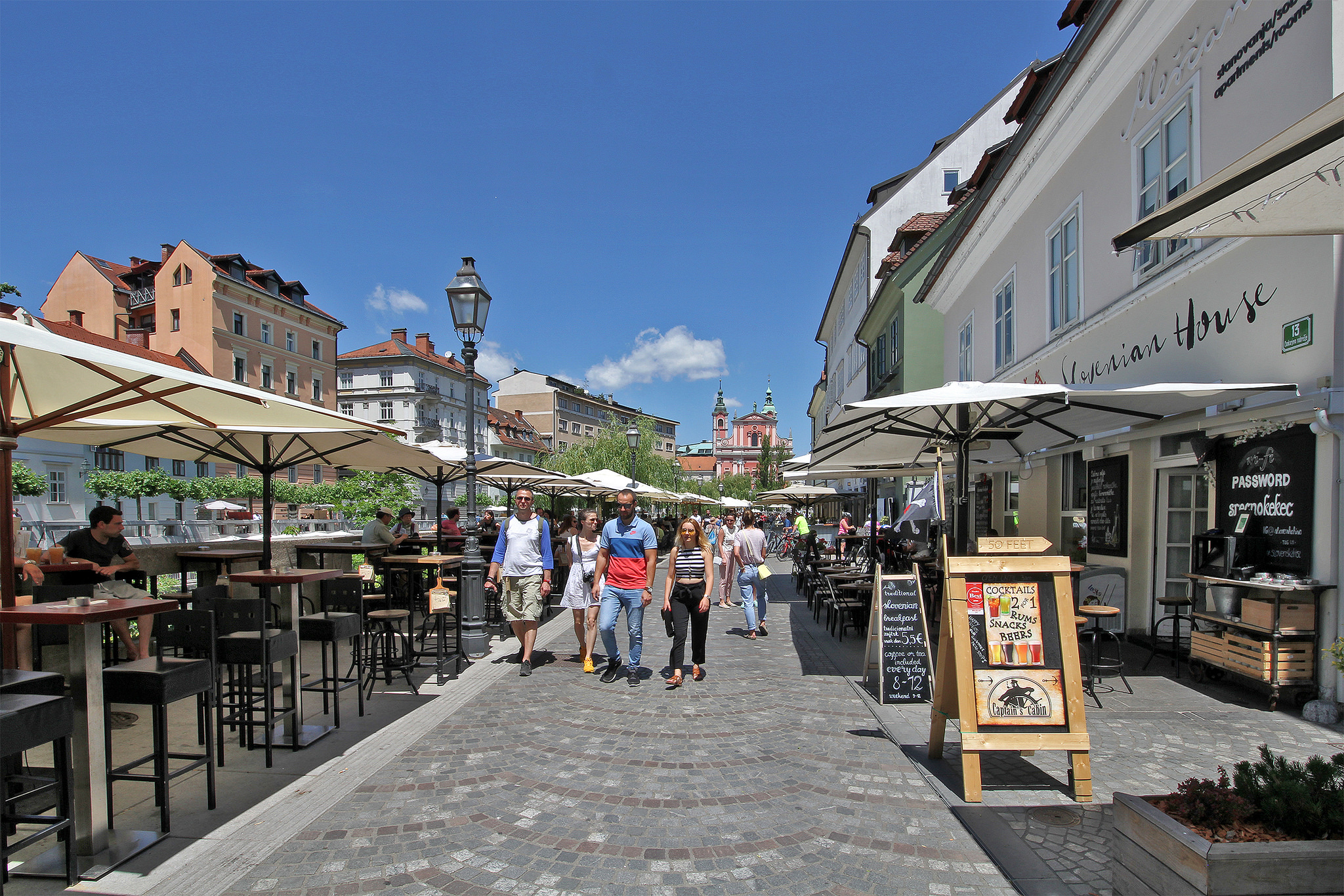 Ljubljana: from revitalisation to gentrification