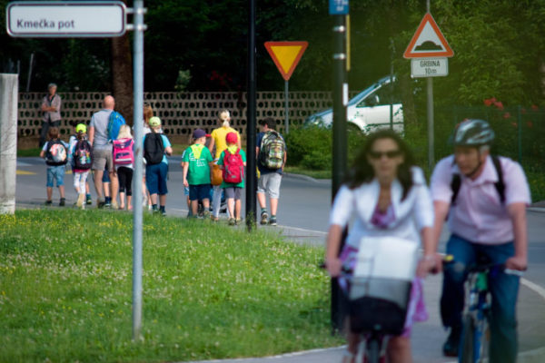 Project Pedestrian – walking as a transport mode