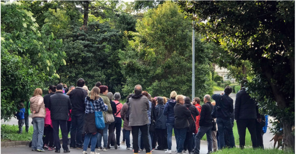 A month of annual community-led walking conversations Jane's Walk is coming to an end