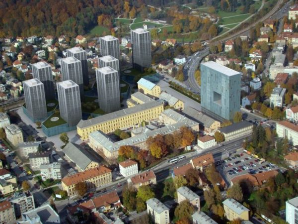 The rise and fall of creative revitalisation of the old Tobacco factory in Ljubljana