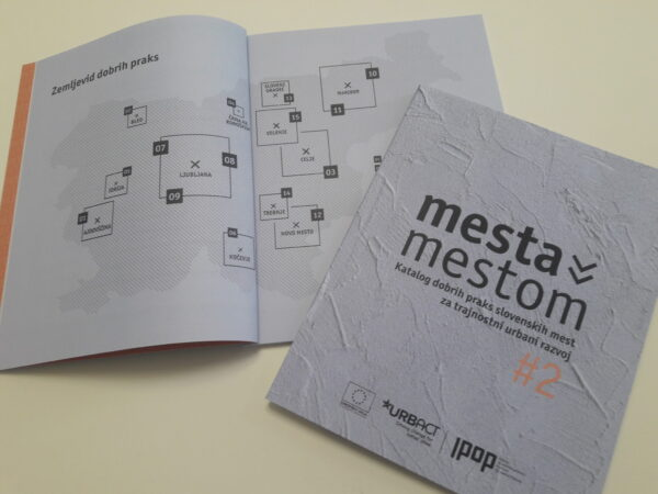 Mesta mestom #2 – Catalogue of good practices of Slovene cities for sustainable urban development
