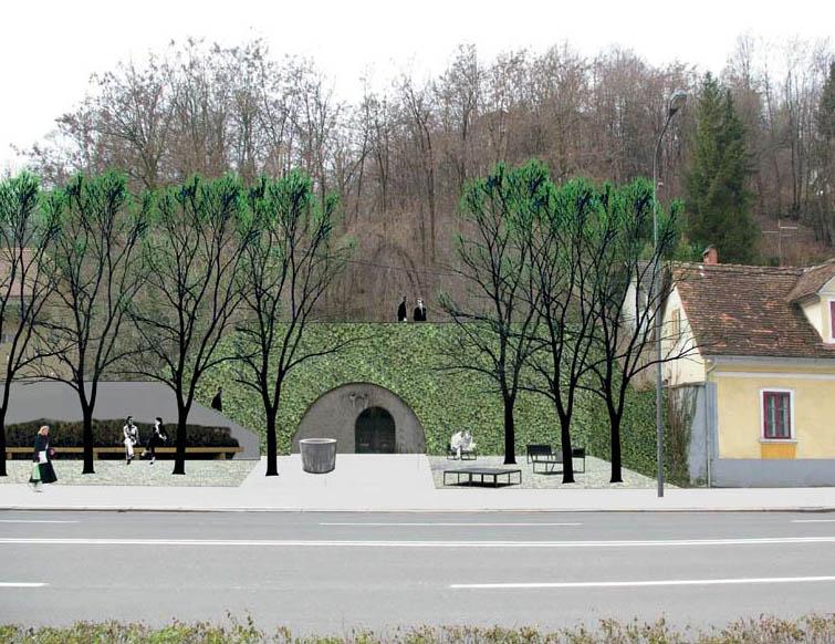 Predstavitev predlogov za ureditev Celovške ceste županu Zoranu Jankoviću