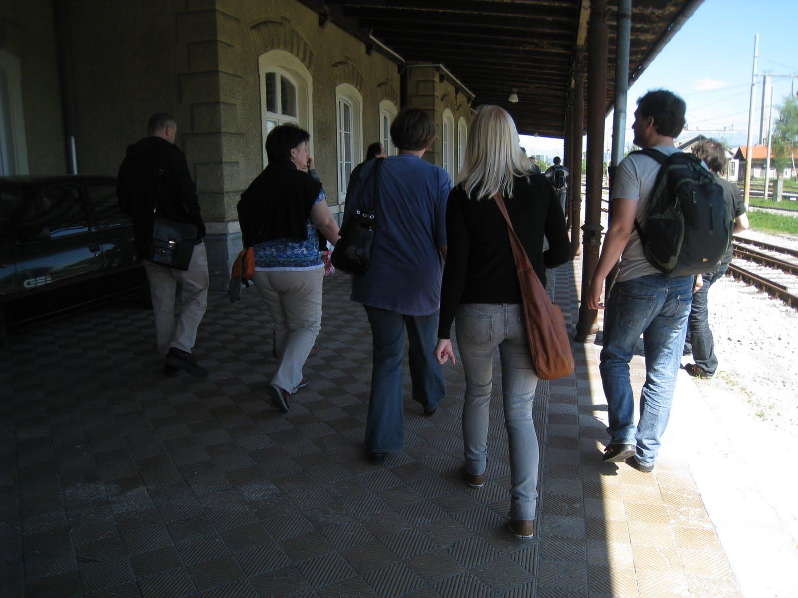 Urbani sprehodi Jane's Walk 2012: pripravljalni dogodek