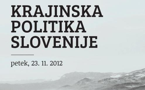 Krajinska politika Slovenije