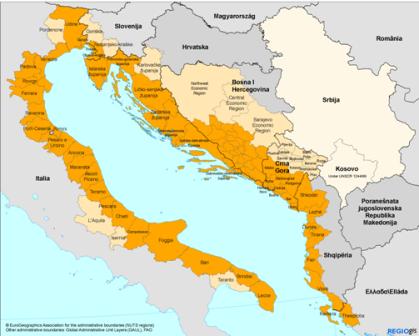 Slovenija vstopa v Jadransko-Jonsko makroregijo