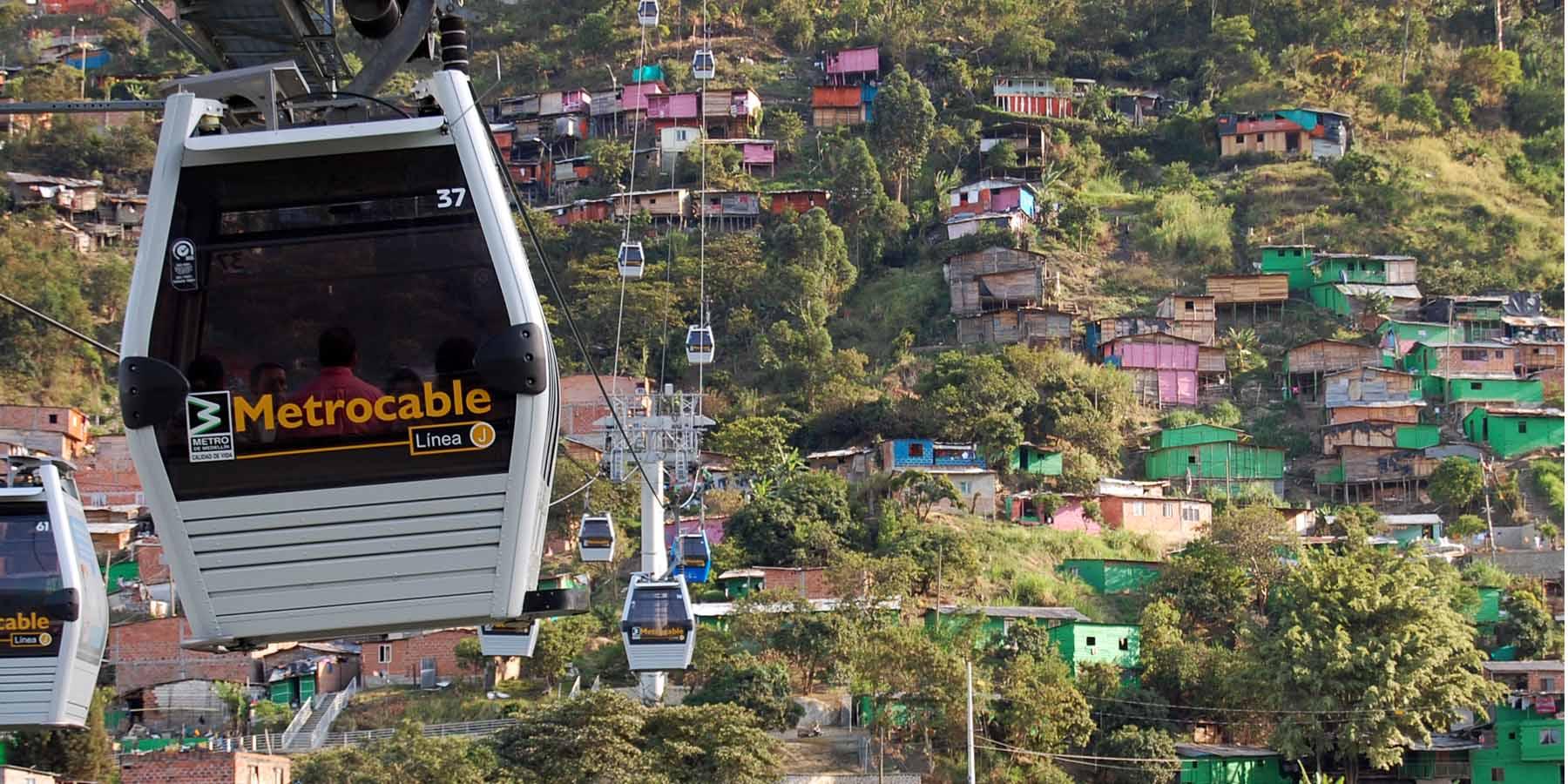 Kolumbijski Medellin z inovacijami po poti družbene enakosti