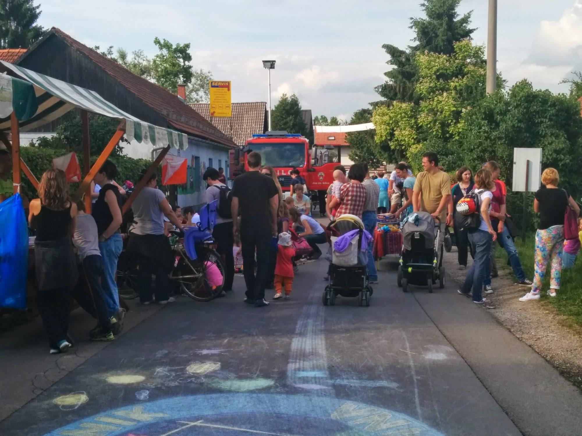 Ulični festival Koseze: »Ljubljana ni samo center«