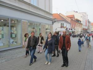 Urbani sprehod po mestu