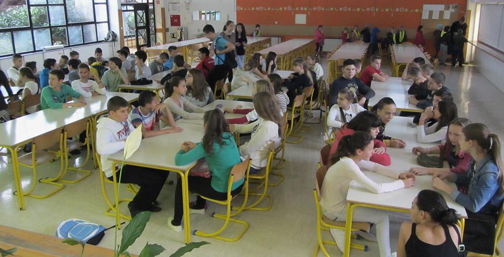Šolarji raziskujejo javni prostor Fužin
