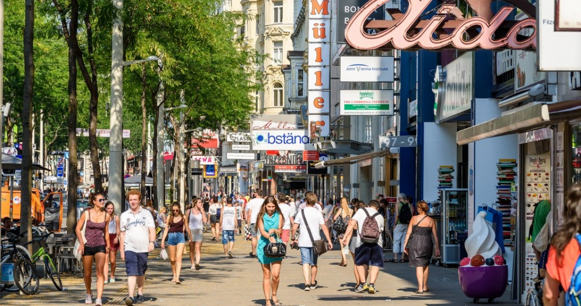 Zakaj je Dunaj pri vrhu skoraj vseh lestvic kakovosti življenja?