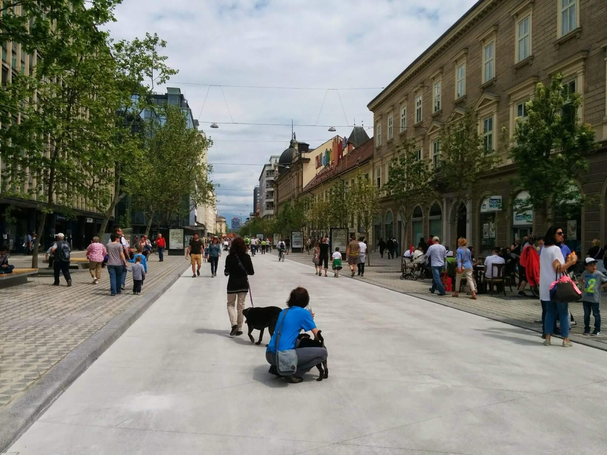 4 razlogi za spodbujanje hoje v mestih
