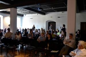 Udeleženci 28. Sedlarjevih srečanj med razpravo (foto dokumentacija DUPPS)