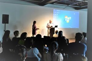 Zaključno razpravo sta vodila predsednica DUPPS dr. Liljana Jankovič Grobelšek in dr. Pavle Gantar.  (foto dokumentacija DUPPS)