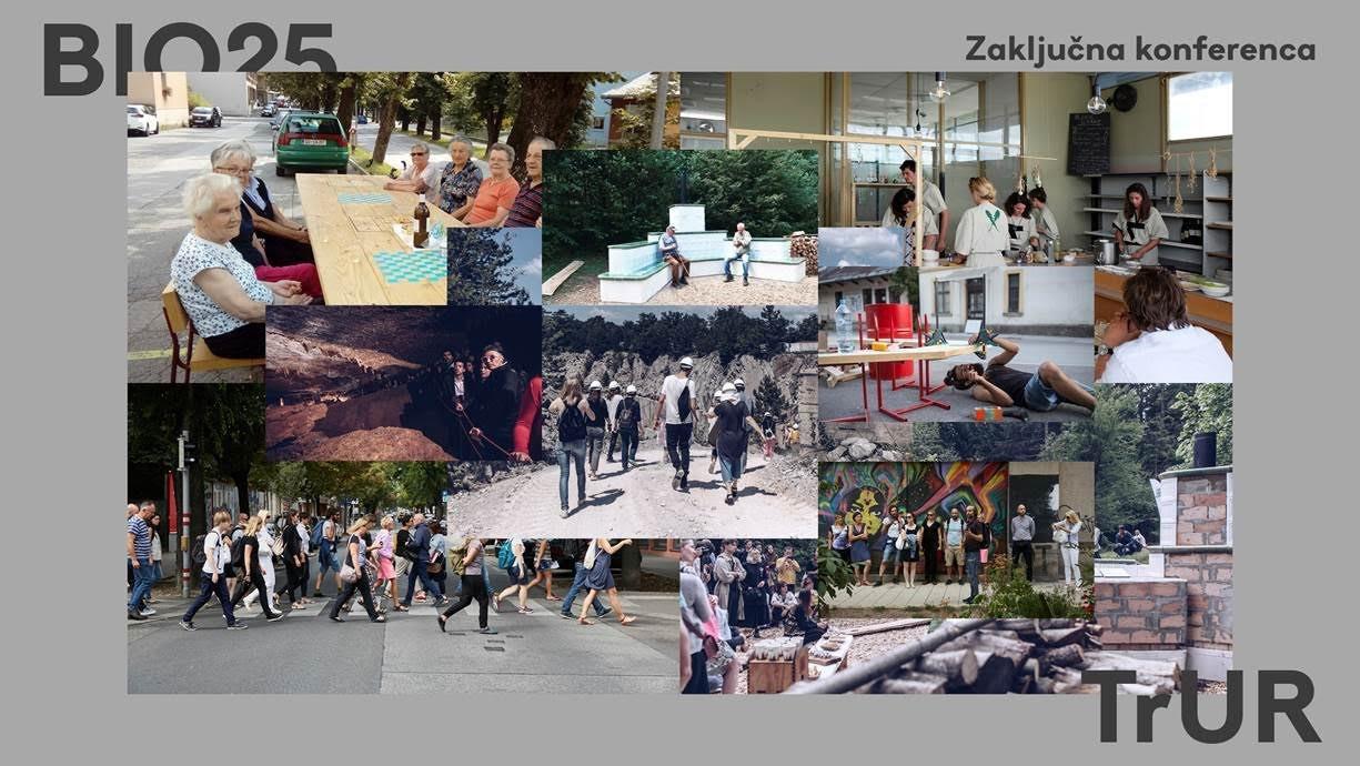 Malo, tako veliko: Zaključna konferenca 25. bienala oblikovanja (BIO 25) in projekta Trajnostna urbana regeneracija (TrUR)