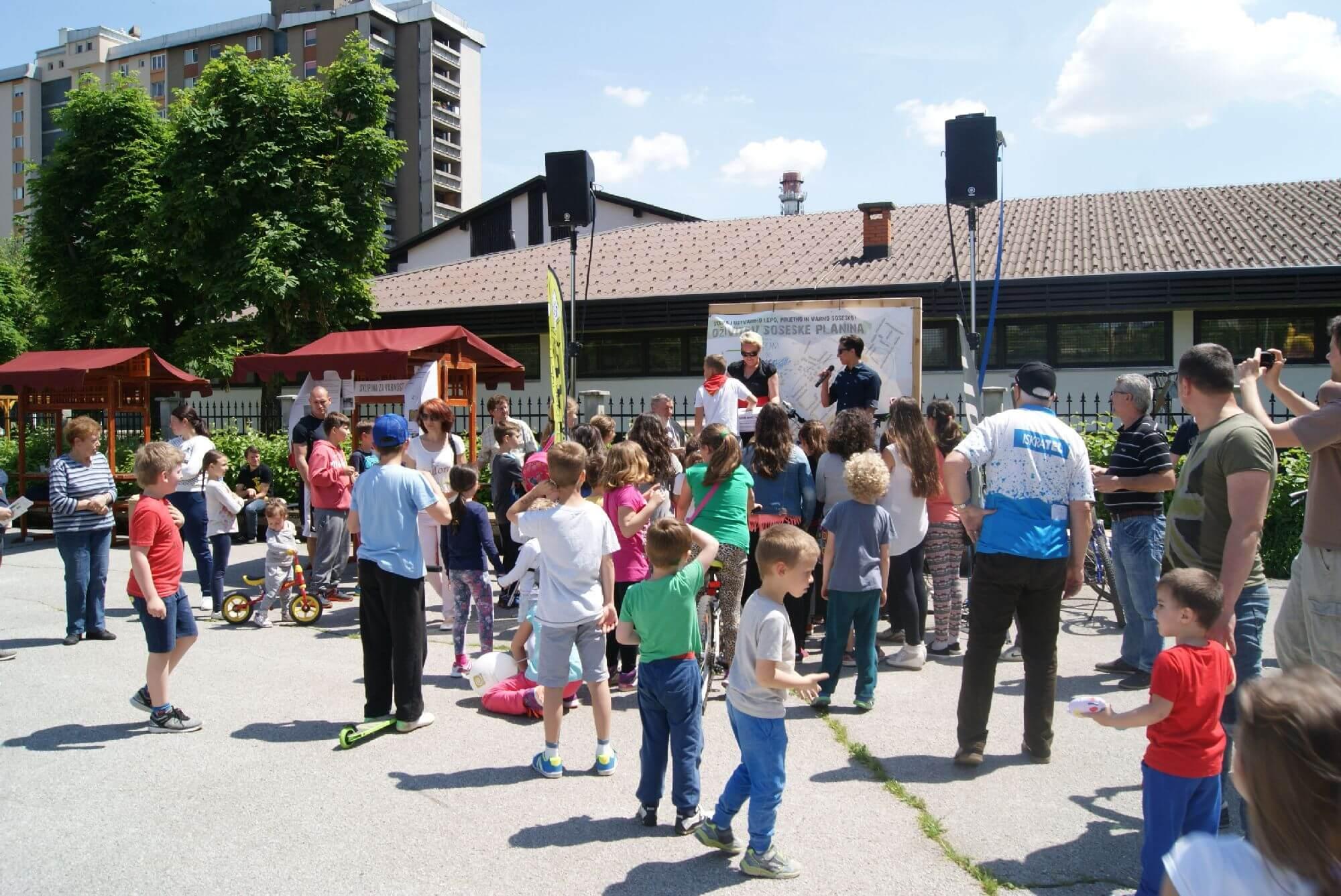 Mesta mestom #1: Grajenje skupnosti in prenova soseske