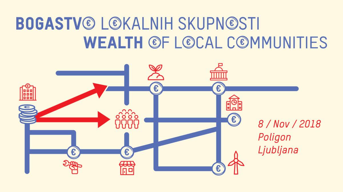 Program za konferenco Bogastvo lokalnih skupnosti 8/11/2018 objavljen!