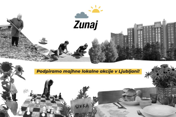 Imaš idejo – mogoče ti lahko pomaga projekt Zunaj