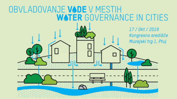 Odprli smo prijave na mednarodno konferenco Obvladovanje vode v mestih