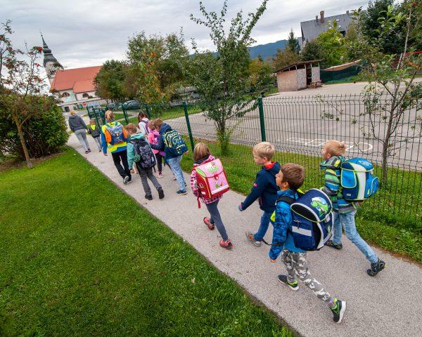 Aktivna in zdrava pot v šolo – seminar in zloženka za starše