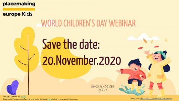 Otroci in mesto – seminar za ustvarjalce prostora na Svetovni dan otroka