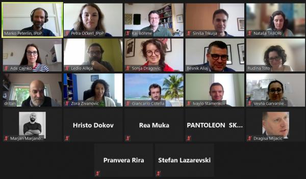 4. letno srečanje predstavnikov mreže TG-WeB, mreže Zahodnega Balkana o prostorskem upravljanju
