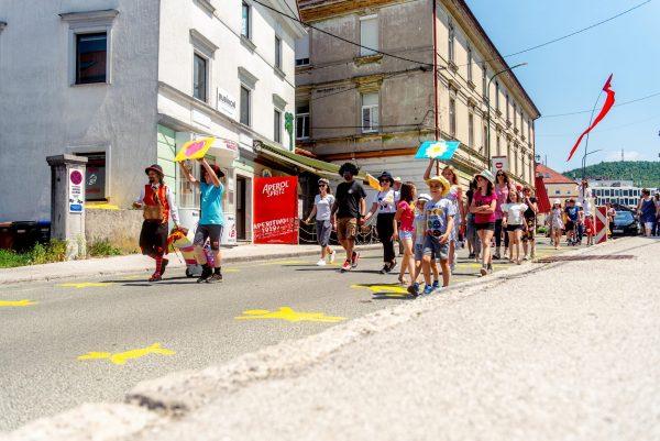 Odprta ulica kaže, da si Postojnčani želijo ulic po meri ljudi