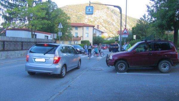 Solkanska Šolska ulica septembra samo za šolarje