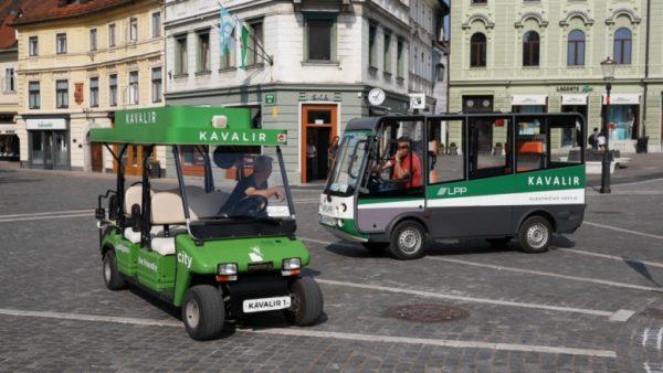 Mesta mestom: Električni minibus Kavalir